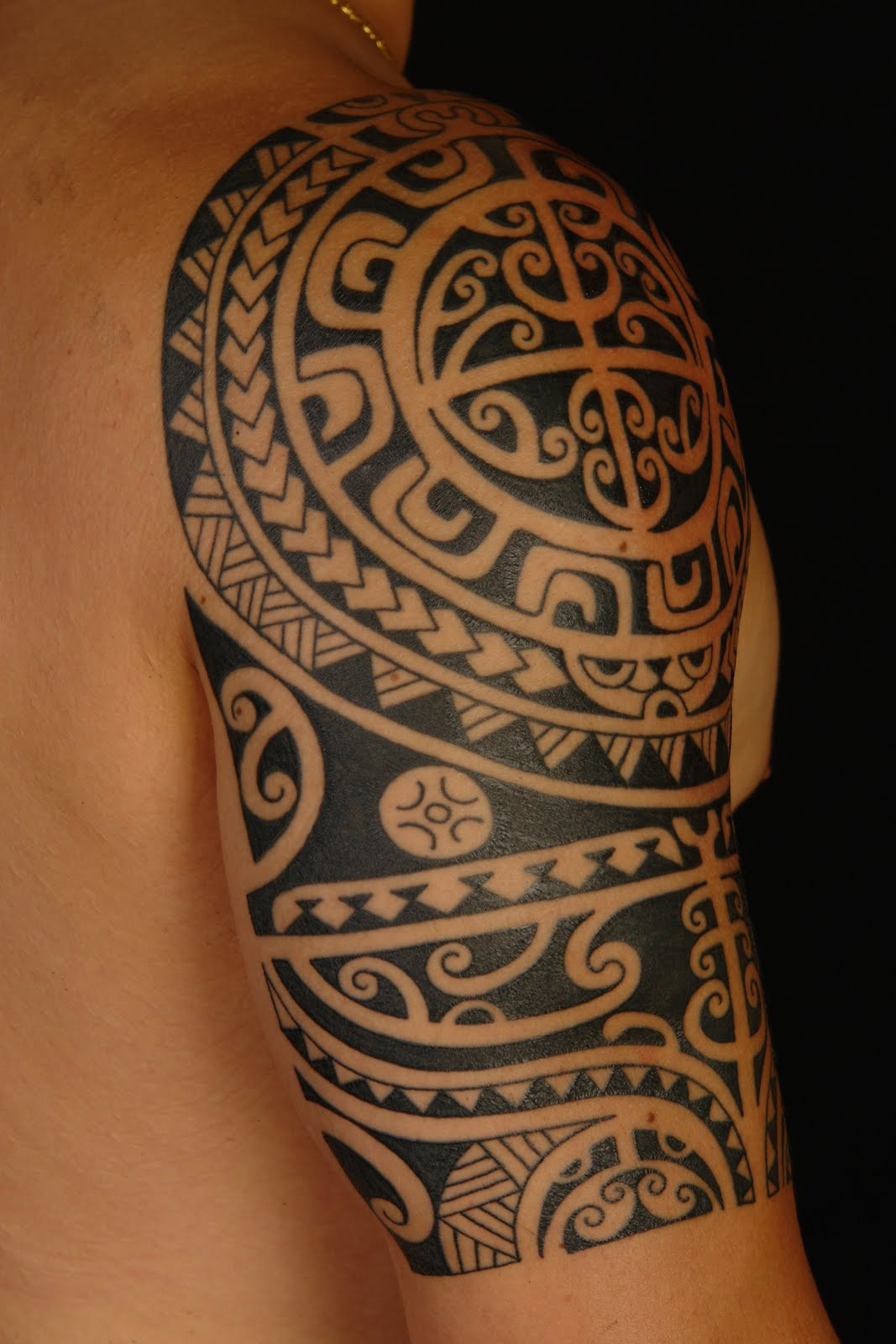 Unique Maori Tribal Tattoo Designs ideas