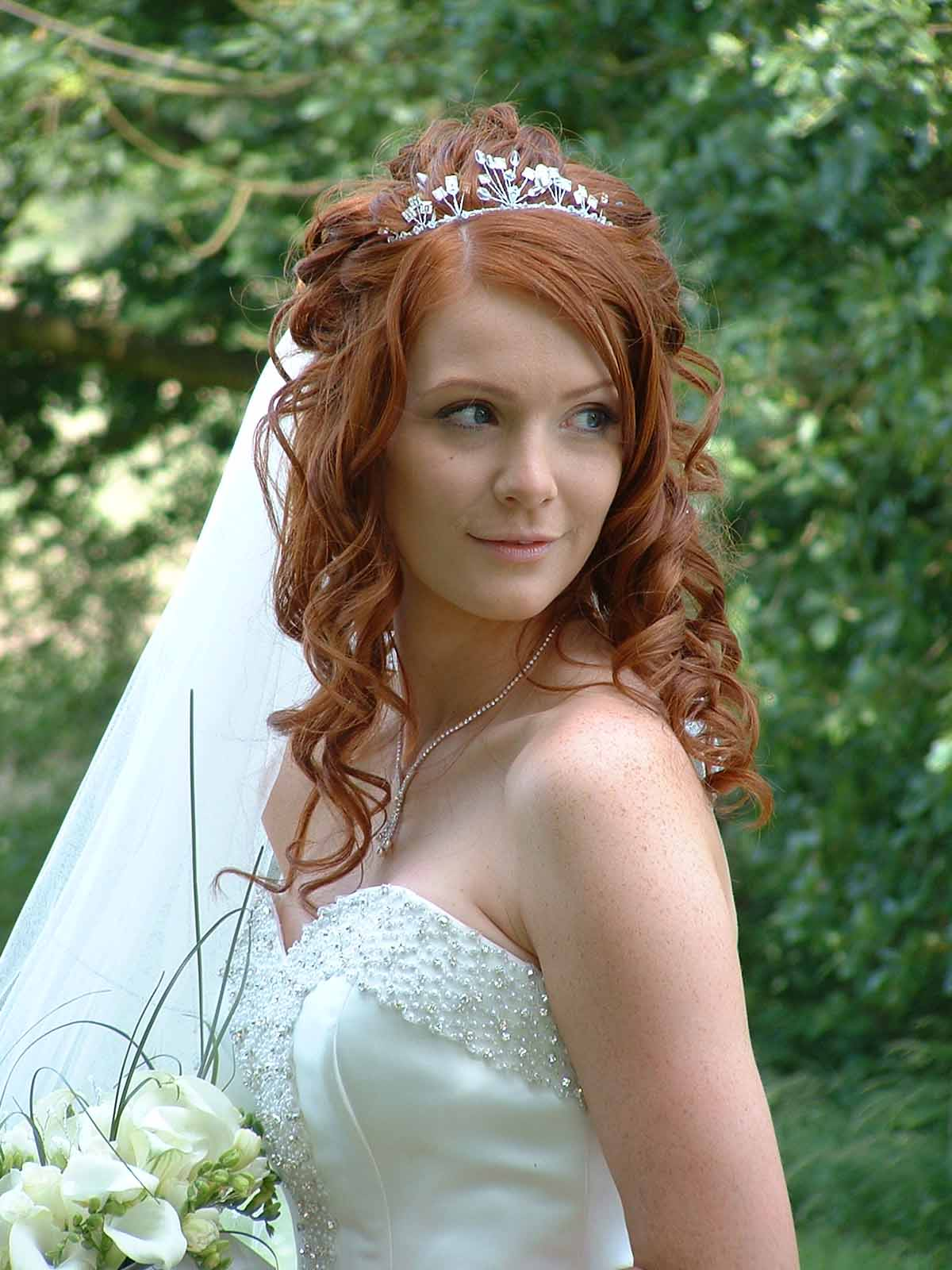 Wedding Hairstyles Curly Hair