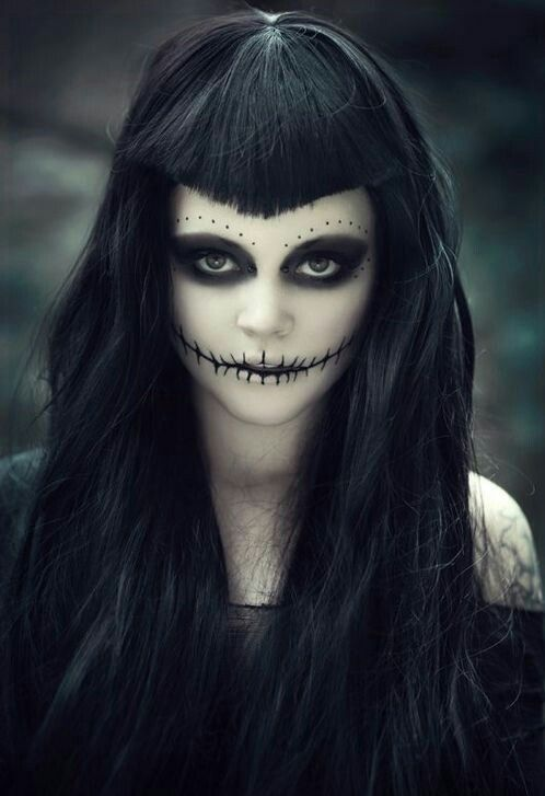 Creepy Makeup Looks To Try This Halloween The Xerxes - Halloween-face-makeup