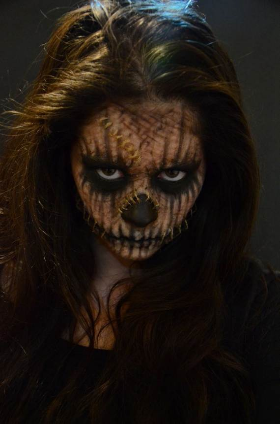 Halloween Makeup For Women..