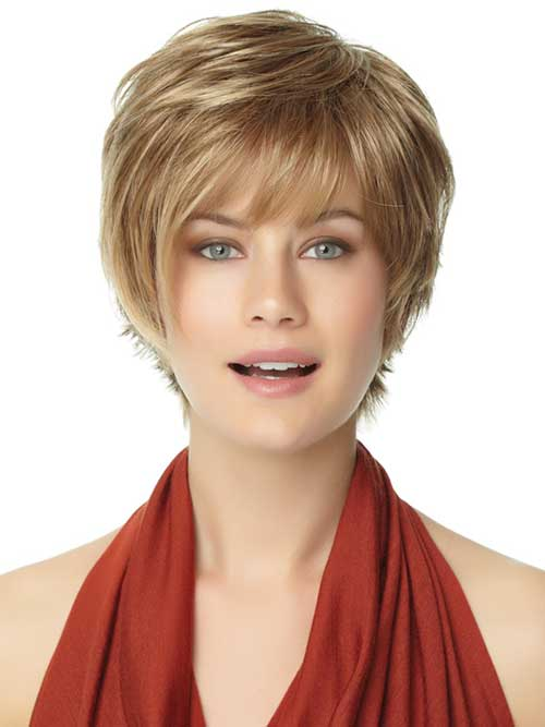 25 Cute And Short Hairstyles for Round Faces - The Xerxes